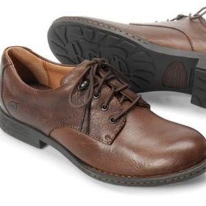Born Miranda Chocolate-Brown Leather Oxford